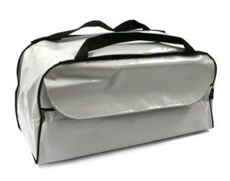 Две накладки на сидения лодки-сумка-рундук из ткани пвх