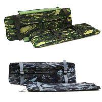 Две накладки на сиденья +сумка-рундук 95х24х3см